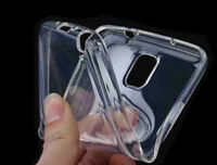 Samsung Galaxy S5 Crystal Clear Transparent Cover Case Silicone Protector