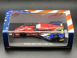 SAM265 Spark 1/43 DeltaWing DWC-13 Petit Le Mans 2015 Limited 350pcs