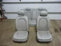 06-10 BUICK LUCERNE Front & Rear Leather Bucket seats  A51 W/O Heated grey