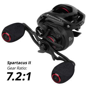 KastKing Spartacus II Baitcasting  Reels  7.2:1 Right-Handed 8 Ball Bearings New