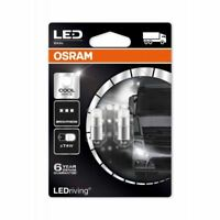 OSRAM T4W LED Cool White PREMIUM 3924CW-02B Interior Lighting 24V 1W 6000k Twin