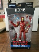 Marvel Legends Civil War Captain America: Iron Man Mark 46 (Giant Man BAF) 2015