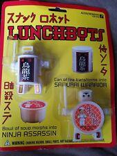Lunchbots ninja assassin samurai warrior morphs toy transforms