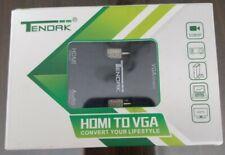 Tendak Active 1080P Female HDMI to VGA Male Converter Adapter