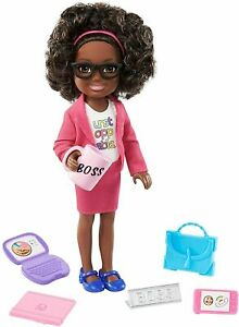 "Barbie Business Woman ""Chelsea Can Be"" Doll Mattel Boss Girl"