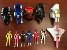 Mighty Morphin' Power Rangers McDonalds Movie Figures and Zords 1995
