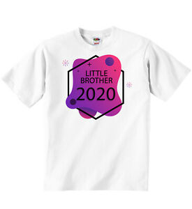 LITTLE BROTHER 2020 T-shirt Tees Funny Printed Boys Girls