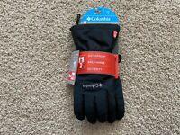 NEW Columbia Inferno Range Insulated Omni Heat Gloves women L