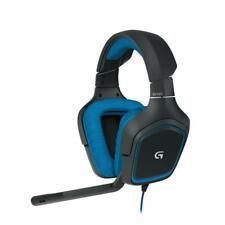 Logitech Gaming Headset G430 Kopfhörer blau Dolby 7.1 Surround Sound OVP
