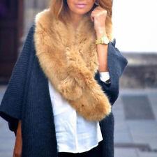 ZARA New Big  Cream Faux Fur Collar Wrap Boa Stole Scarf Sold Out Bloggers Furry