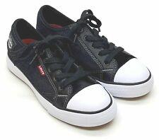 Levi's Stan Buck C Boy's Denim Shoes Black Denim