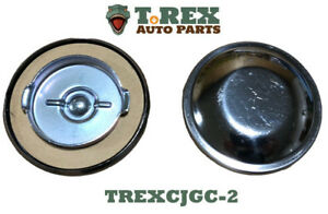 """1945-1971 Jeep CJ Non-Vented gas cap for """"Under the seat"""" tanks"""