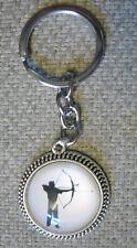 Schlüsselanhänger Bowhunting Keychain Arrow Bogensport Pfeil  Bogen Archery