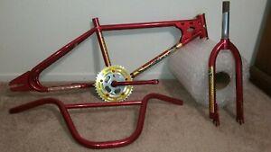 1981 Diamond Back Senior Pro Old School BMX Frame Fork Bars Takagi Sugino Tange
