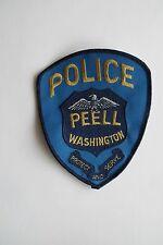 COLLECTIBLE PEELL WASHINGTON POLICE APPLIQUE PATCH