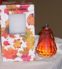 Simon Designs Crystal Harvest Shimmer Pear Paper Weight Nib