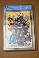 A-Force #1 CBCS 9.2 (not CGC) Marvel 2015