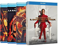 HUNGER GAMES - Collezione Blu-ray (4 BLU-RAY) con Jennifer Lawrence