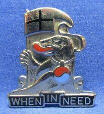 Korean War German Made 94th M.P. Military Police DI Unit Crest Pin