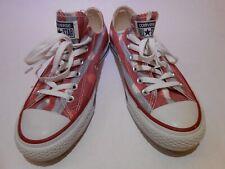 Converse Walking Skateboard Sneakers Lace Up Shoes Men Sz 6 Women Sz 8