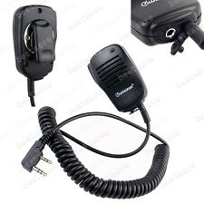 WOUXUN Speaker Mic PTT For KG-UV8D UV6D/5D UV2D UV899 UVD1P Two-Way Radio B0616