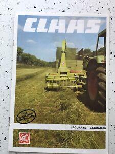claas jaguar 62/60 forage harvester Brochure
