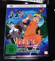 Naruto The Movie 3 La Gardien De Sichelmondreiches Mediabook blu ray + DVD Neuf