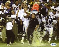 Brian Billick Ravens SB 35 Signed 8x10 Photo Autograph Auto BAS Beckett COA