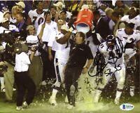 Brian Billick Ravens SB 35 Signed 8x10 Photo Autograph Auto BAS Beckett COA