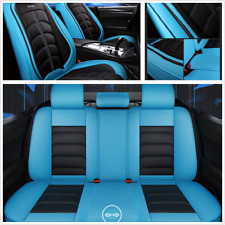 1Set Luxury Edition 5D Surround Full Seat Cover PU Leather Universal Fit For Car