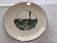 Frederick & Nelson Seattle Worlds Fair Century 21 1962 Vintage Historic Plate