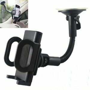 Car Swivel Air Frame Vent Holder + Phone In Car Windscreen Suction Mount Hold...
