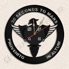 30 Seconds to Mars Wall Clock Vinyl Record Clock