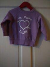 Evie Angel Girls 6-9 Months Unicorn Club Jumper