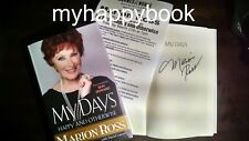 SIGNED My Days Happy and Otherwise by Marion Ross, autographed, new