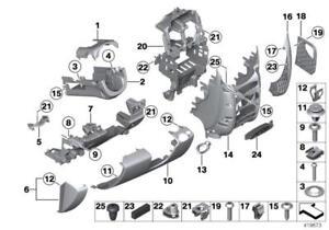 OEM MINI Cooper Countryman Instrument Panel Dash-End Cover Left 51459803819