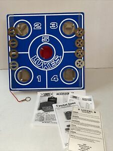 Lukes 5 Pocket Championship Washer Tossing Game Made In USA