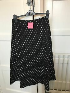 Kate Spade Polka Dot Skirt Size US6. UK 10 New with Tags