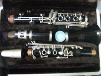 Vintage  Buescher Aristocrat Clarinet w Case Made in USA