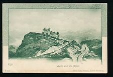 Switzerland RIGI Kulm Alps Furnicular Railway c1900s u/b  PPC
