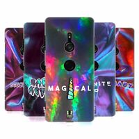 HEAD CASE DESIGNS IRIDESCENT TYPOGRAPHY HARD BACK CASE FOR SONY PHONES 1