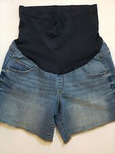 a:glow Boyfriend Women's Maternity Shorts New Size 16