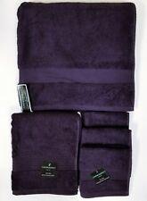 New Cynthia Rowley 5 Pc Set Purple 1 Bath,1 Hand Towel+3 Washcloth