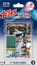 New York Yankees 2018 Topps Factory Sealed 17 Card Team Set Aaron Judge plus