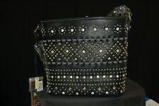 Montana West Bling crossbody handbag / Black / New w/tags