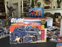 1997 GI Joe COBRA RAGE Vehicle 99% Complete!! Alley Viper. New!