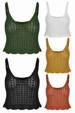 Unbranded Acrylic Solid Tops & Blouses for Women