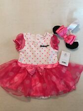 Disney Store Baby Girl Outfit Dress 22 Pink Minnie Makayla 12-18 M Months Tutu