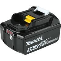 NEW GENUINE Makita LED GAUGE BL1850B Lithium Ion 18V Battery 5.0 AH 18 Volt Fuel