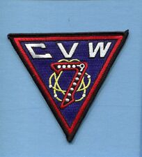 CVW-7 CARRIER AIR WING CAG SEVEN US Navy Aircraft Carrier Squadron Jacket Patch